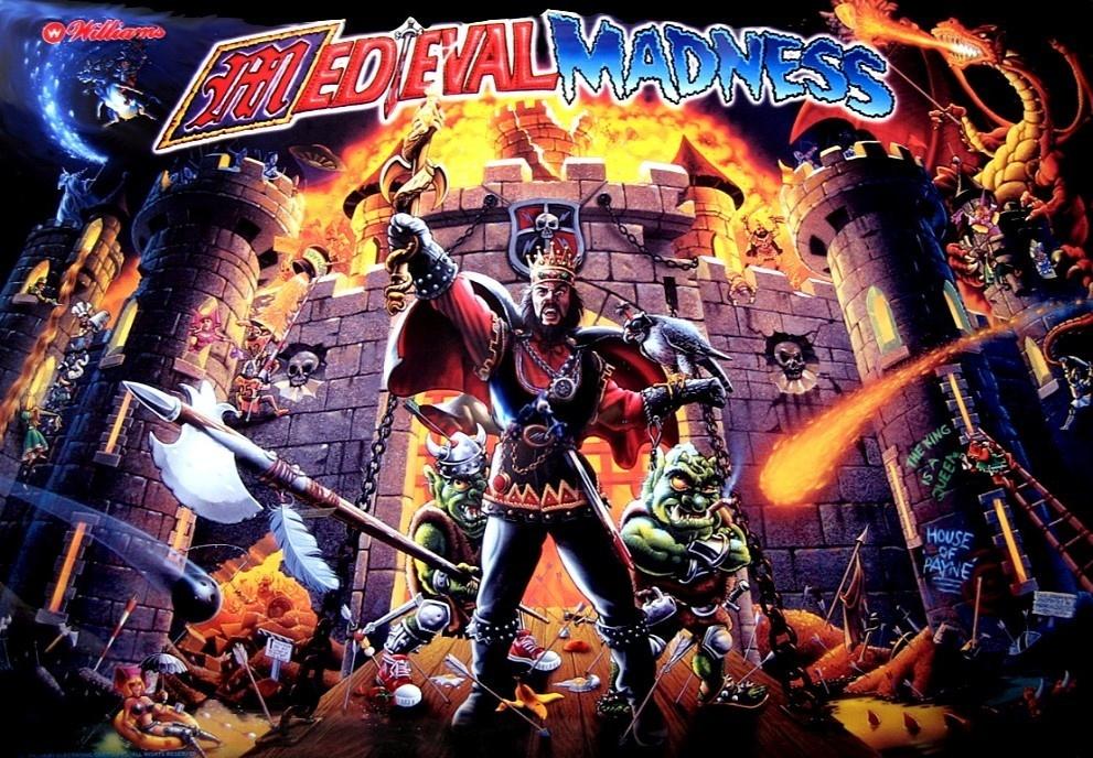 Medieval Madness Pinball Mods