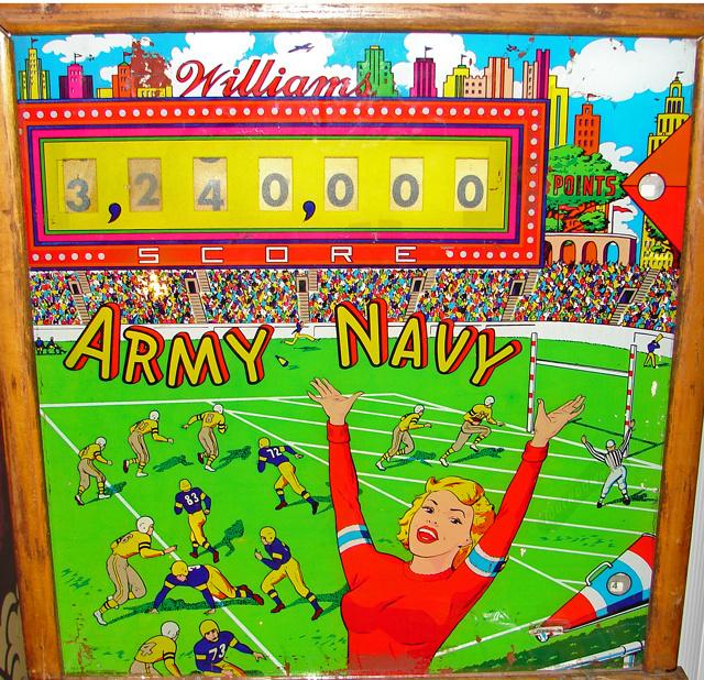 Army Navy Pinball Mods