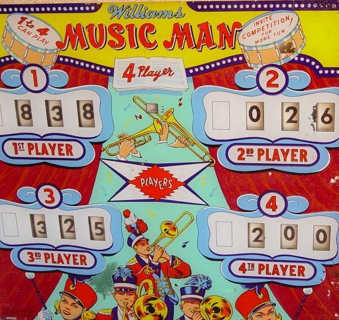 Music Man Pinball Mods