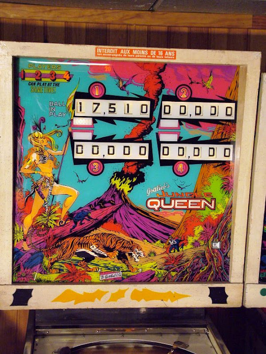 Jungle Queen Pinball Mods