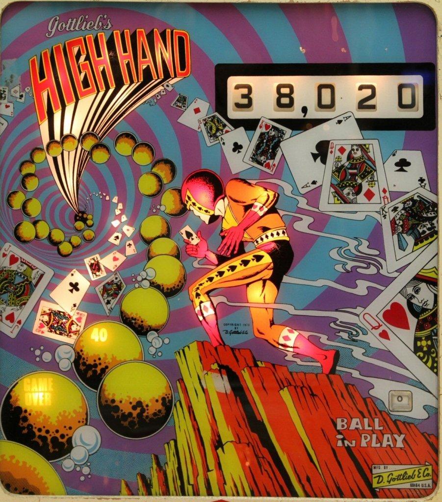 High Hand Pinball Mods
