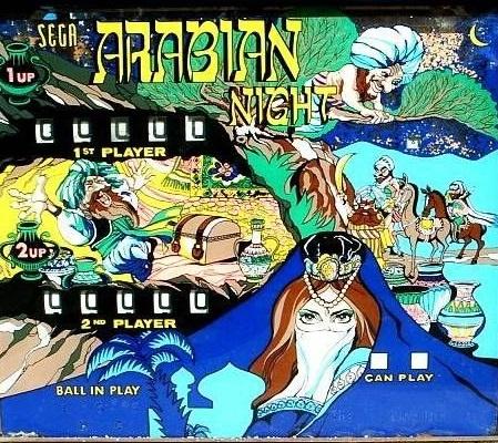 Arabian Night Pinball Mods