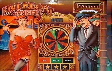 Riverboat Gambler Pinball Mods