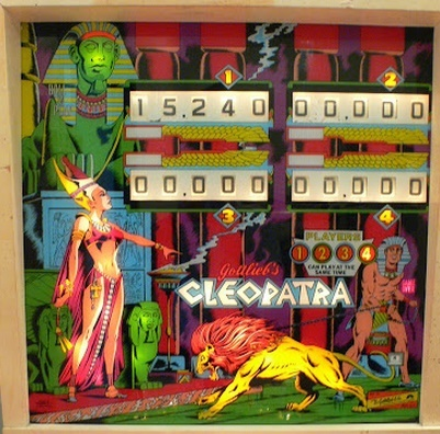 Cleopatra EM Pinball Mods