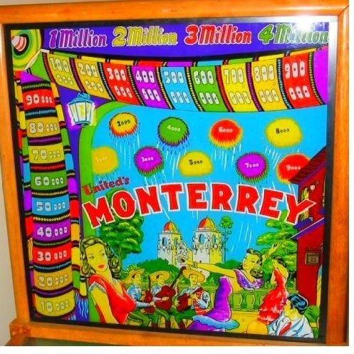 Monterrey Pinball Mods