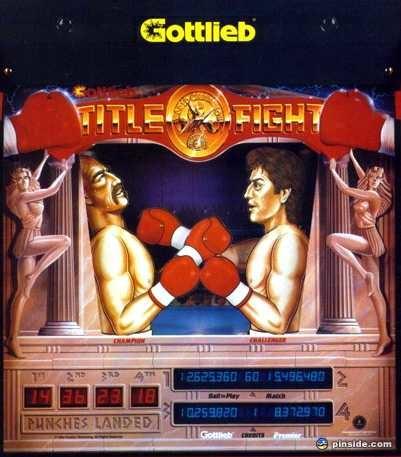Title Fight Pinball Mods