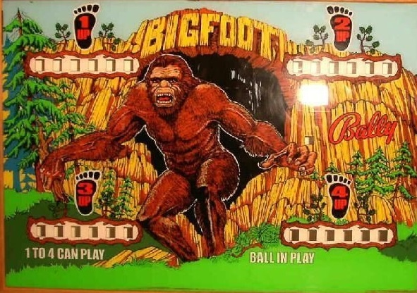 Big Foot Pinball Mods