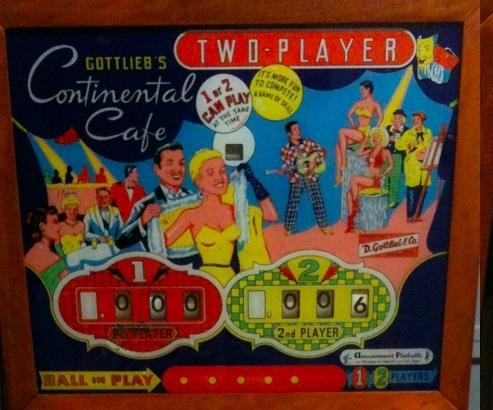 Continental Cafe Pinball Mods