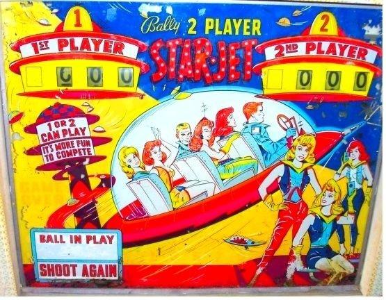 Star-Jet Pinball Mods