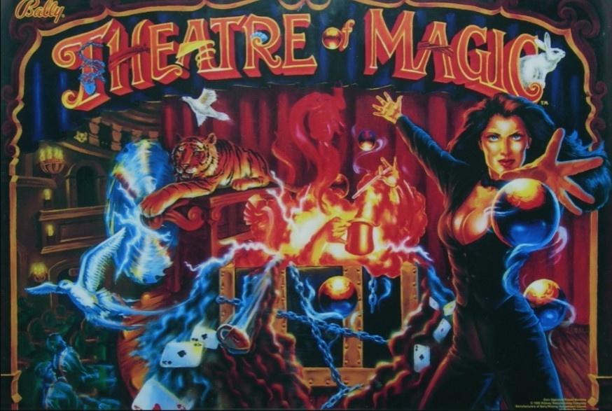 Theatre of Magic Pinball Mods