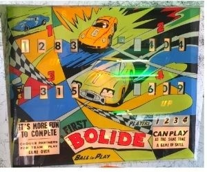 First Bolide Pinball Mods