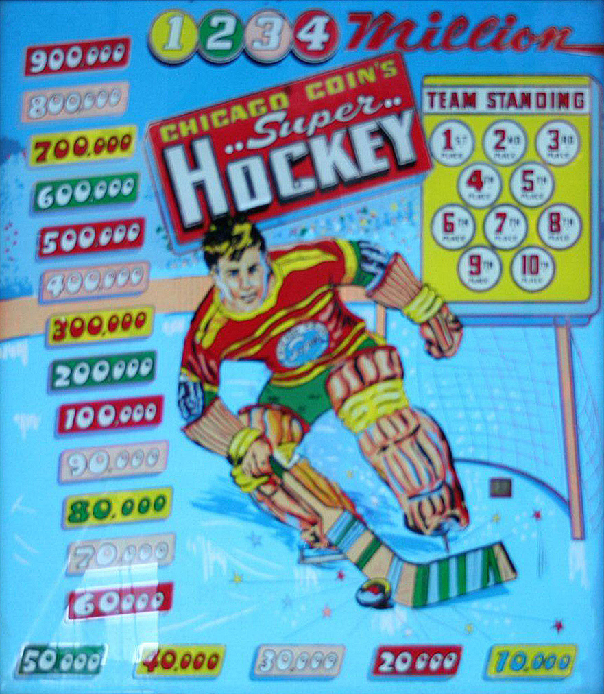 Super Hockey Pinball Mods