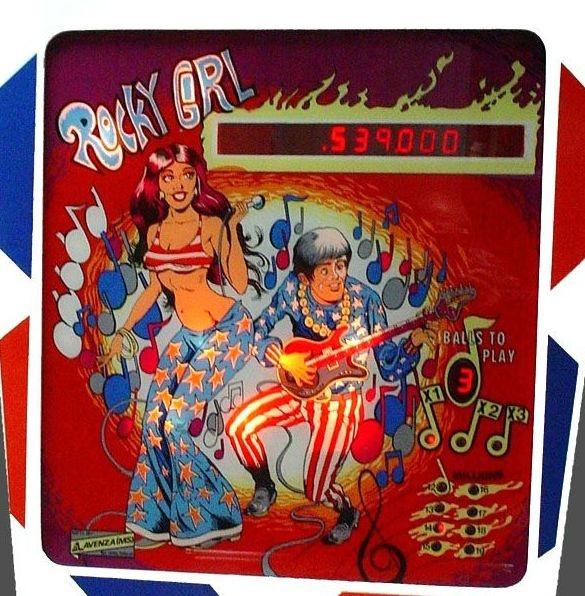 Rocky Girl Pinball Mods