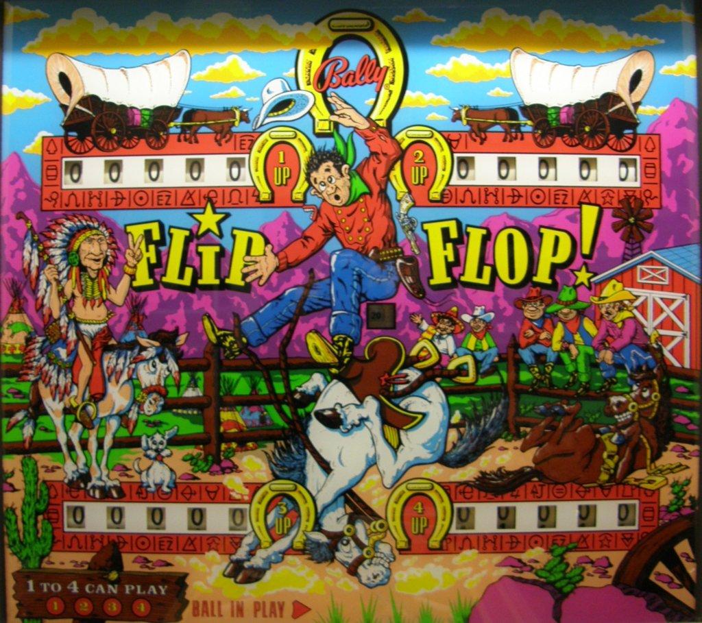 Flip Flop Pinball Mods