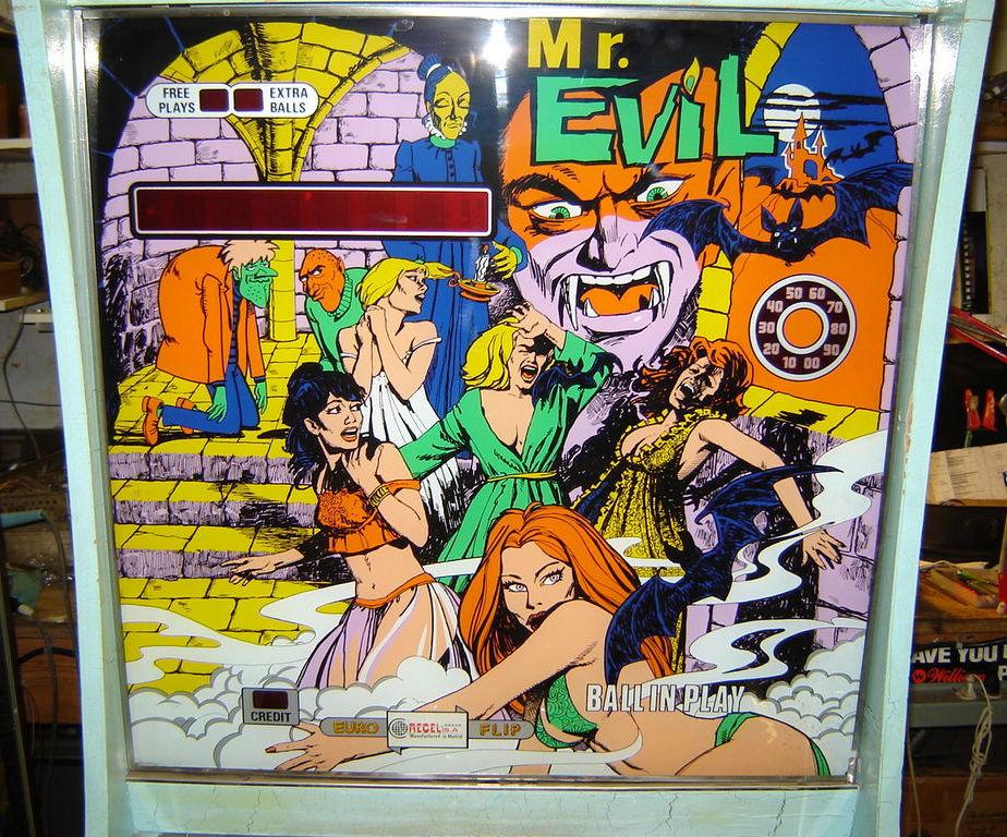 Mr. Evil Pinball Mods