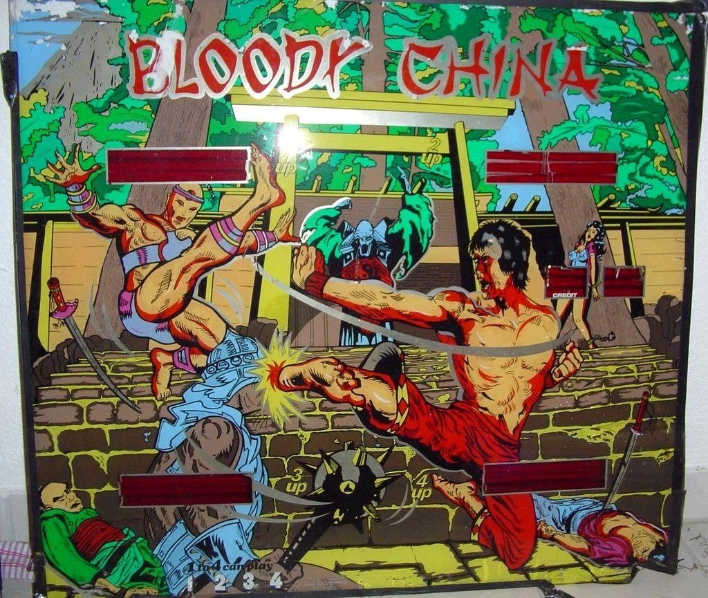 Bloody China Pinball Mods