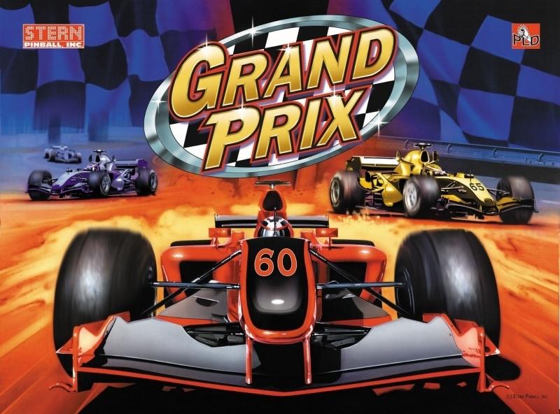 Grand Prix Pinball Mods