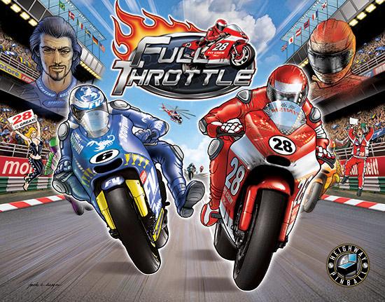 Full Throttle Pinball Mods
