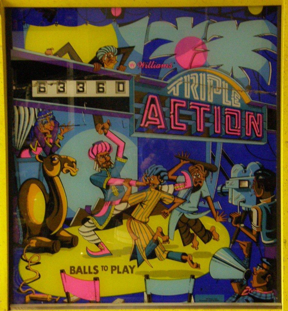 Triple Action Pinball Mods