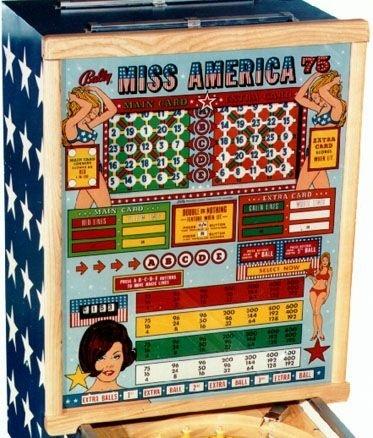 Miss America '75 Pinball Mods