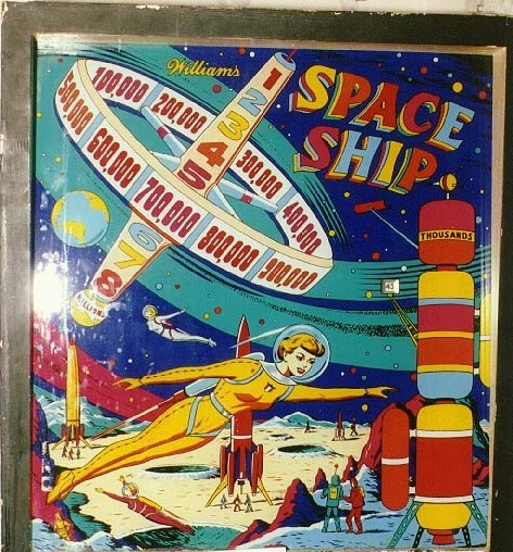 Space Ship Pinball Mods