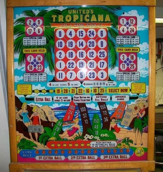 Tropicana Pinball Mods