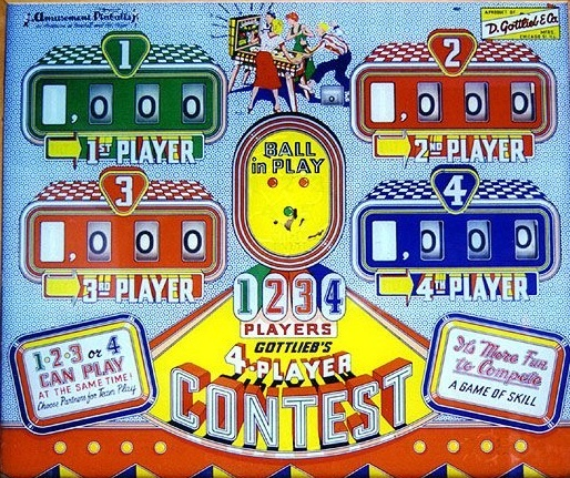 Contest Pinball Mods