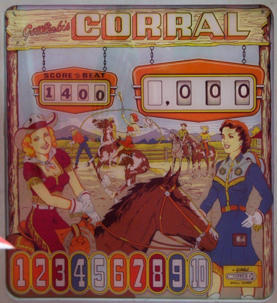 Corral Pinball Mods
