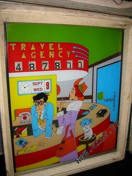 Travel Agency Pinball Mods