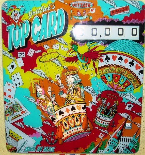 Top Card Pinball Mods