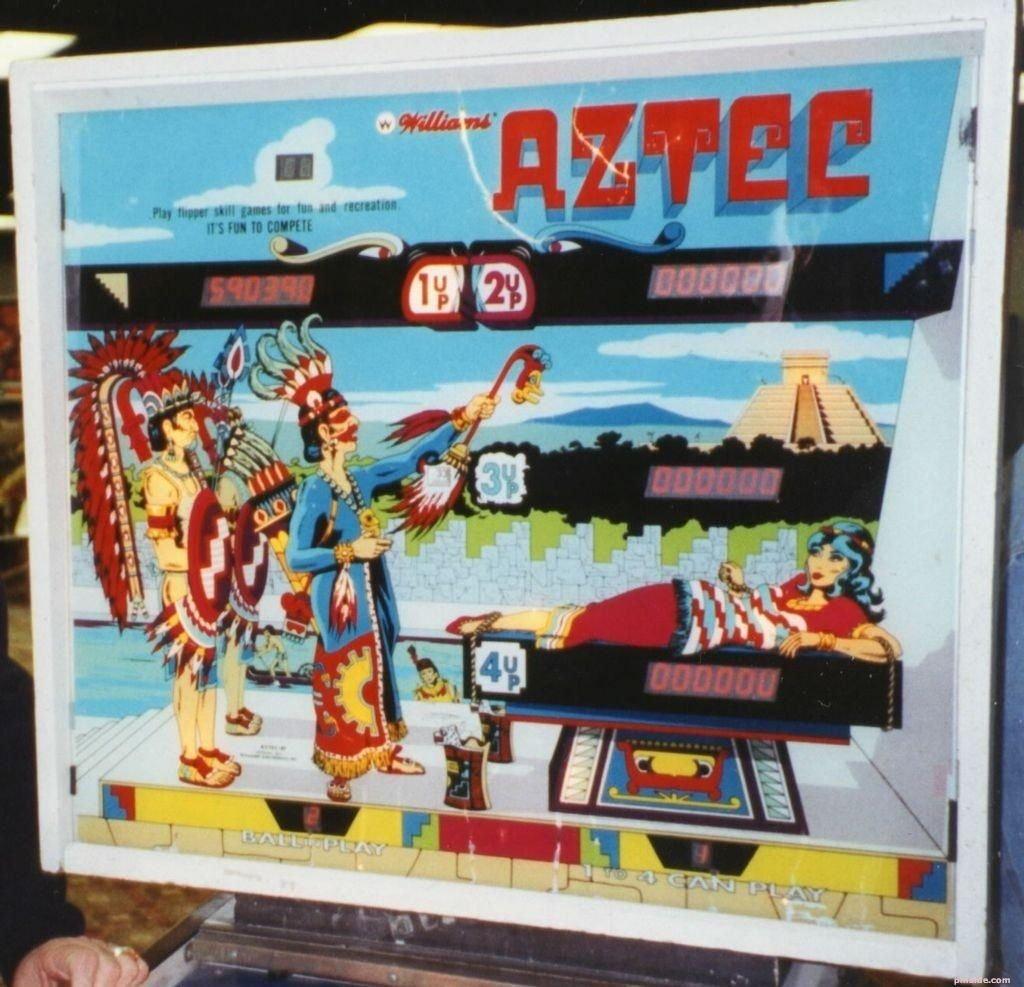 Aztec SS Pinball Mods