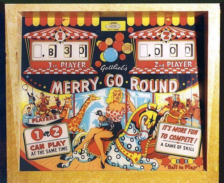 Merry-Go-Round Pinball Mods