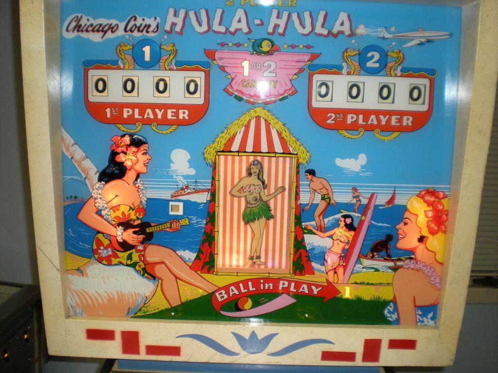 Hula-Hula Pinball Mods