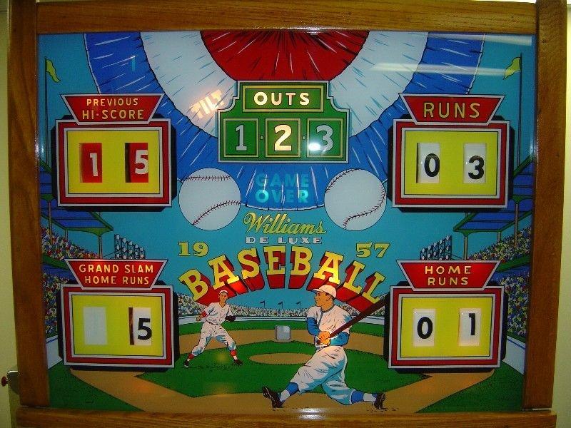 1957 Baseball Deluxe Pinball Mods