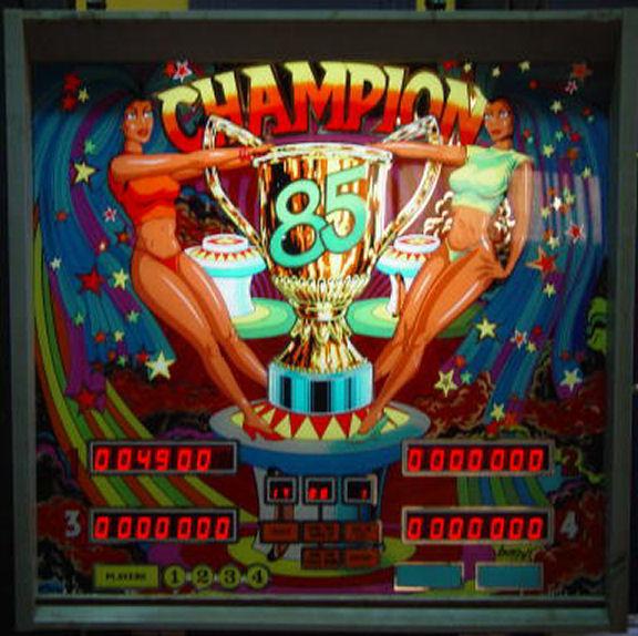 Champion 85 Pinball Mods