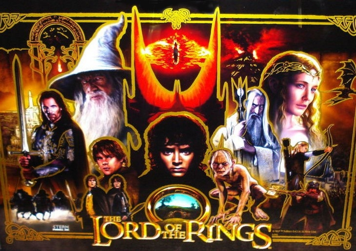 Lord of the Rings Limited Edition (Stern, 2009) Pinball ...