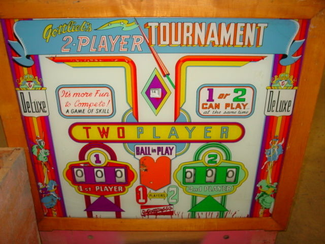 Tournament Pinball Mods