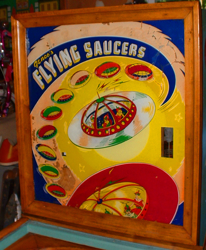 Flying Saucers Pinball Mods
