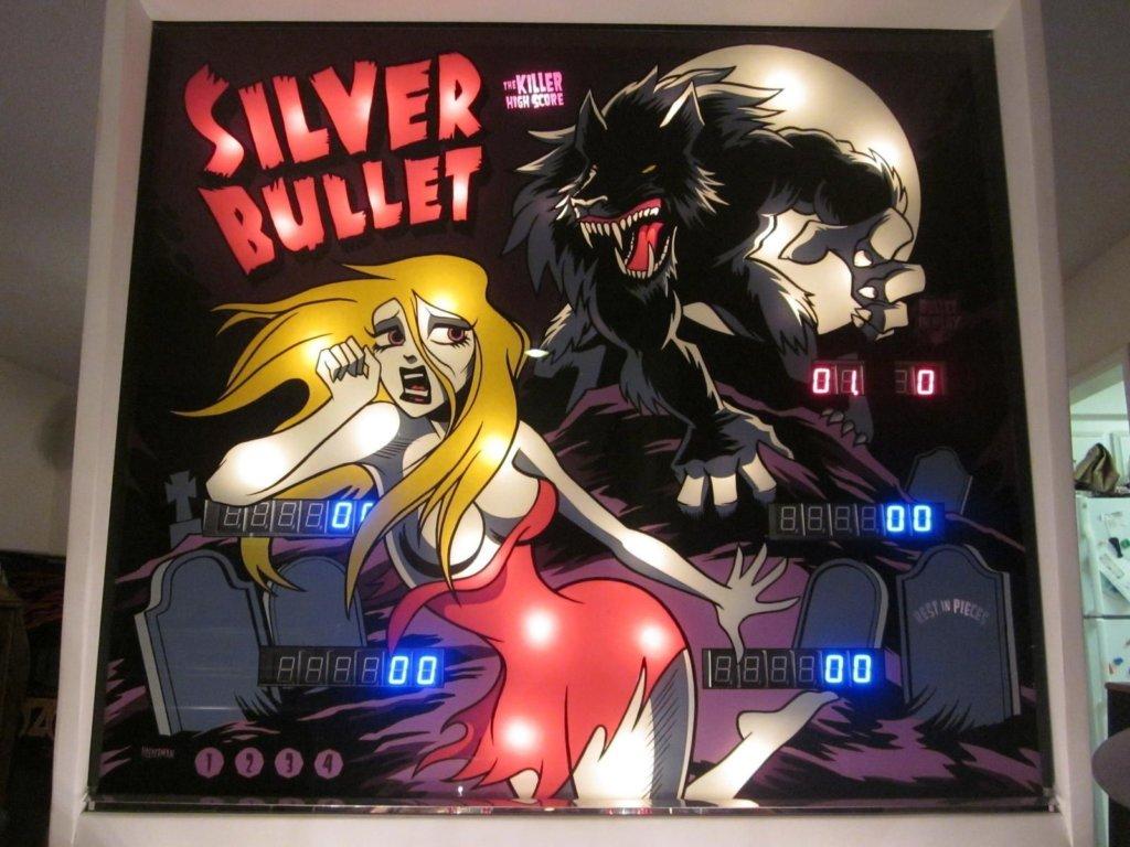 Silver Bullet Pinball Mods