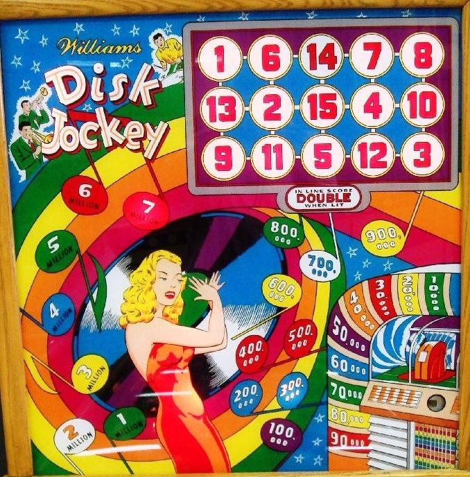 Disk Jockey Pinball Mods