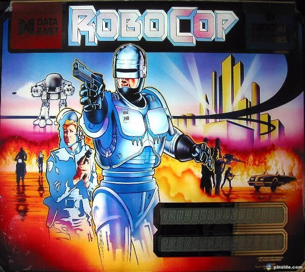 Robocop Pinball Mods