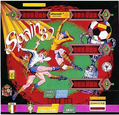 Spain 82 Pinball Mods