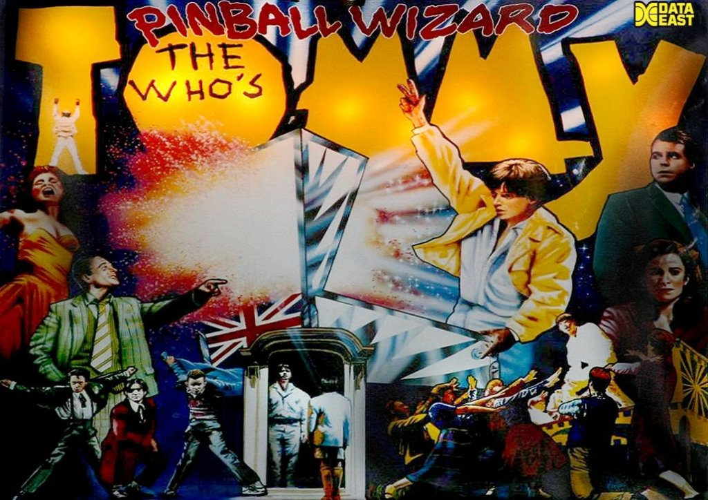 The Who's Tommy Pinball Wizard Pinball Mods