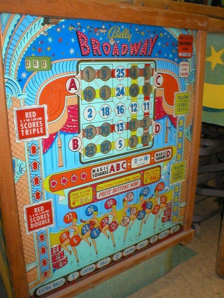 Broadway Pinball Mods