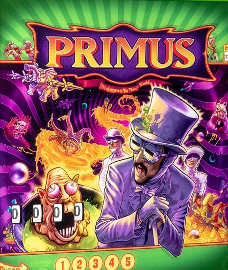 Primus Pinball Mods
