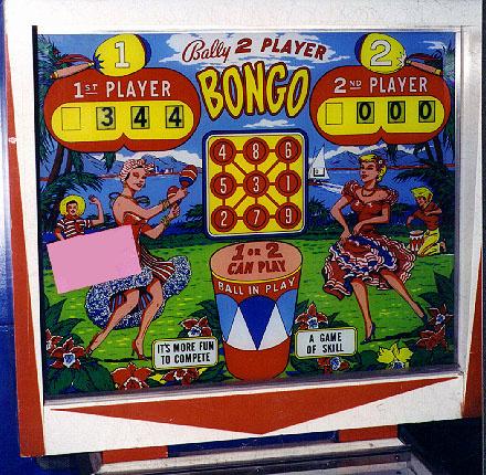 Bongo Pinball Mods