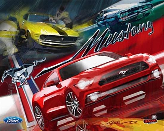 Mustang (Pro) Pinball Mods