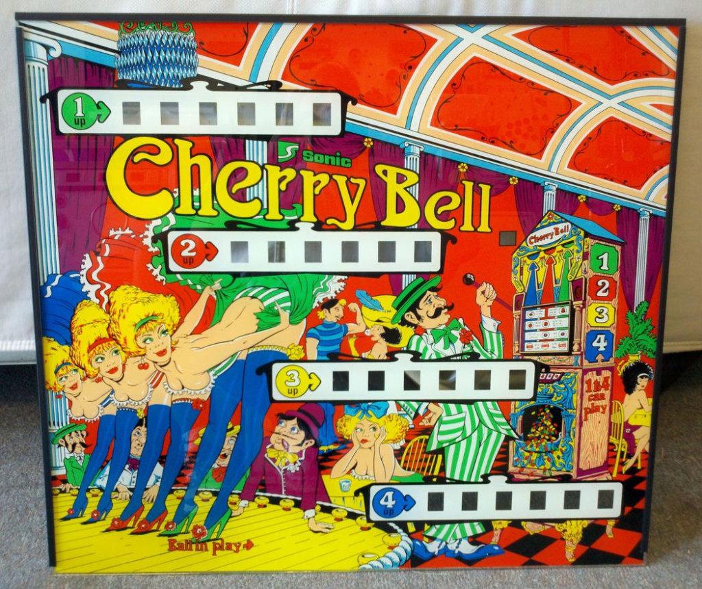 Cherry Bell Pinball Mods