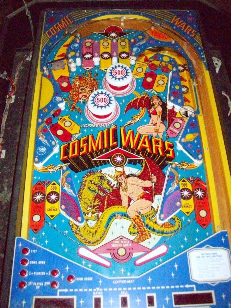 Cosmic Wars Pinball Mods