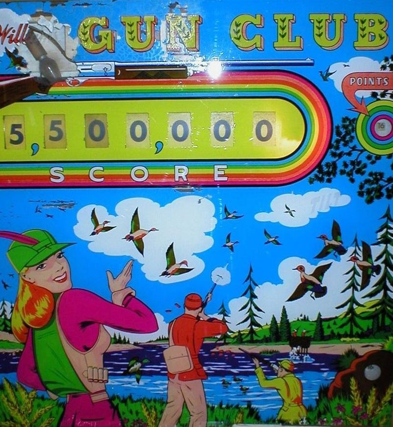 Gun Club Pinball Mods